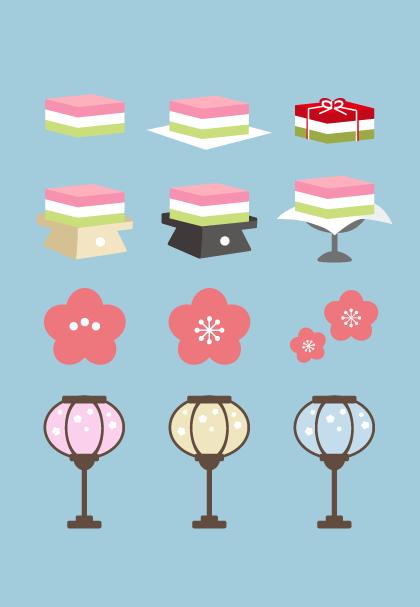 無料ひな祭りをもっと楽しむ無料イラスト素材 特集 デジナーレ