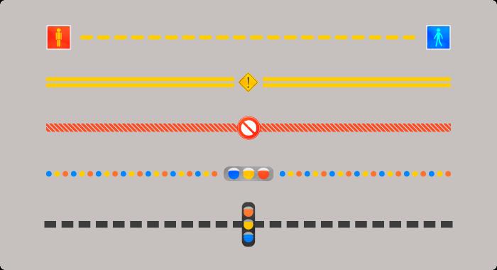 交通信号セット2