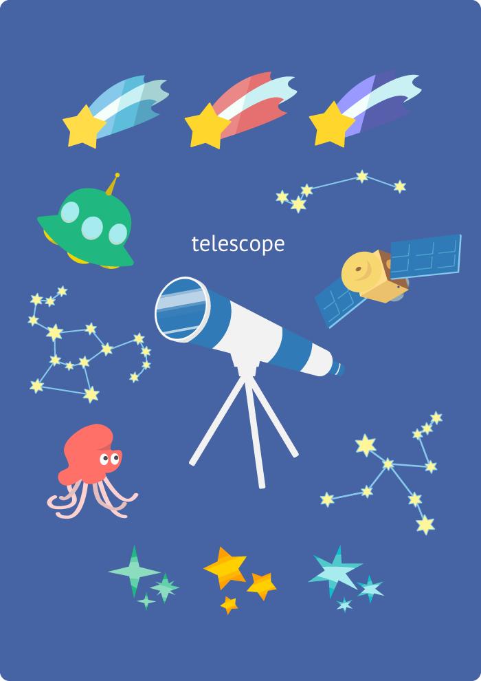 望遠鏡セット1